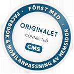 Connected CMS - Först med Facebook & mobilanpassning av hemsidor