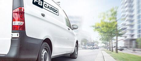 Ny hemsida till FB Cargo AB levererad av CMS